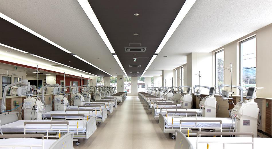 透析患者様への最新治療と24時間体制の安心を提供します。